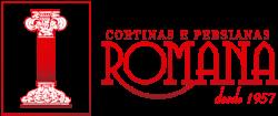 Cortinas e Persianas Romana Logo